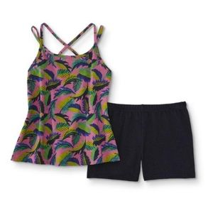 Other - NWT PALM Girls' Plus Tank Top & Knit Shorts